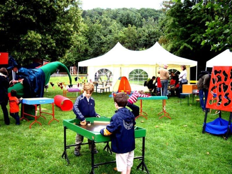 kleines Spielefest