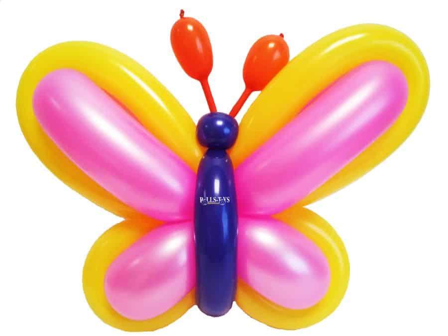 Luftballon Schmetterling