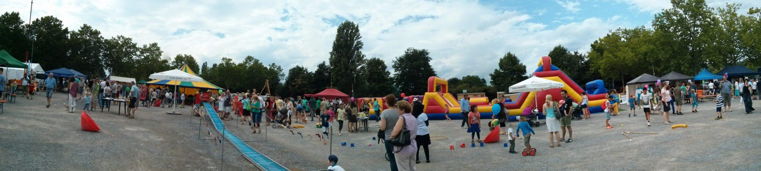 Kinderbereich auf dem Festival Brüderschaft der Völker