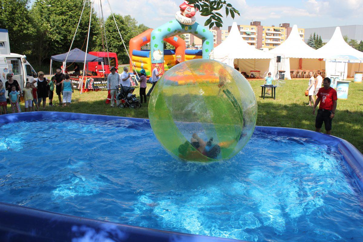 Preisliste Kinderevents - Wasserlaufball