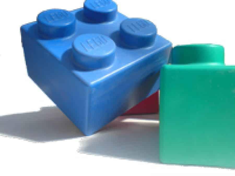 Riesen-Lego