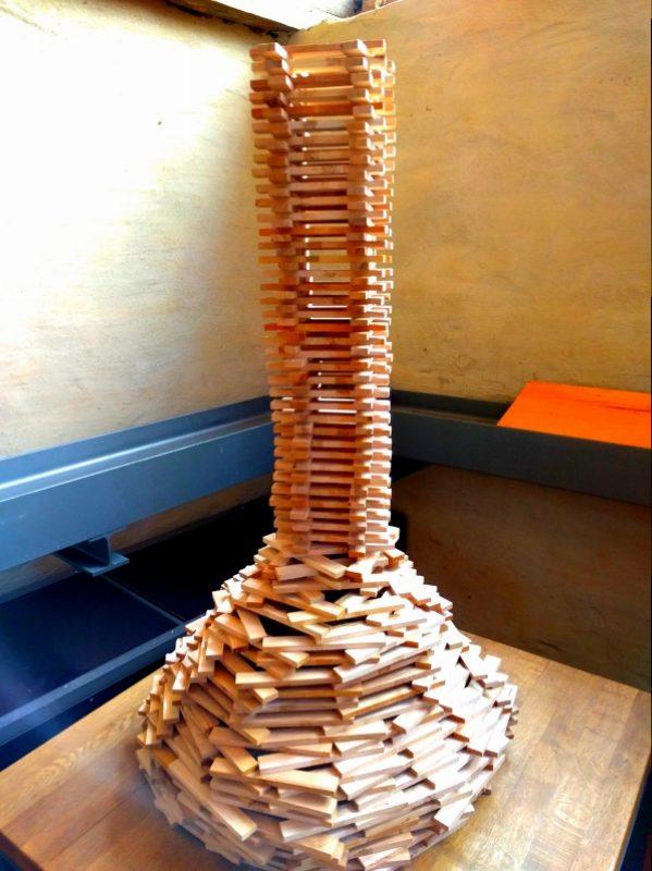 Holzbaustadt Turm