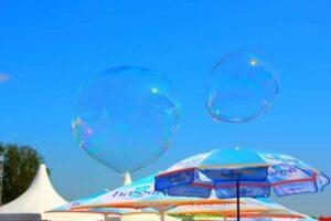 Seifenblasenkünstler