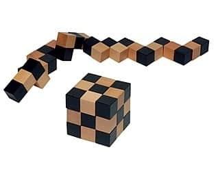 Puzzle Würfelschlange