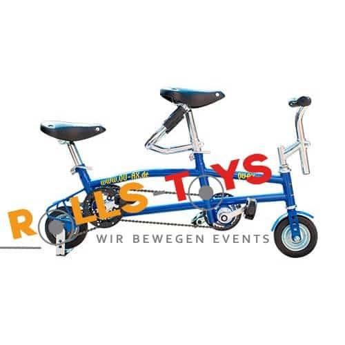 Mini Fahrrad als Tandem