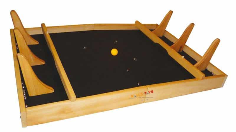 Powerball Holzspiel für 6 Spieler