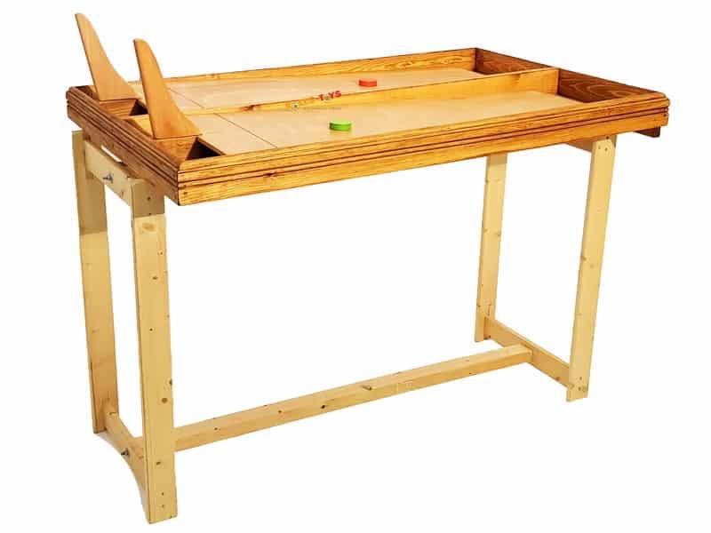 Scheibenrennen Holzspiel