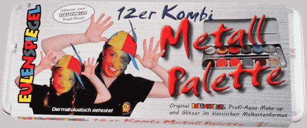 12er Kombi Schminkpalette