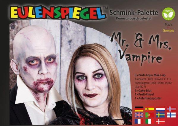 Mr.& Mrs. Vampire – Schminkpalette