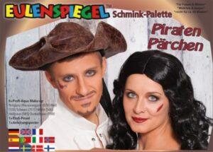 Piraten Pärchen – Schminkpalette