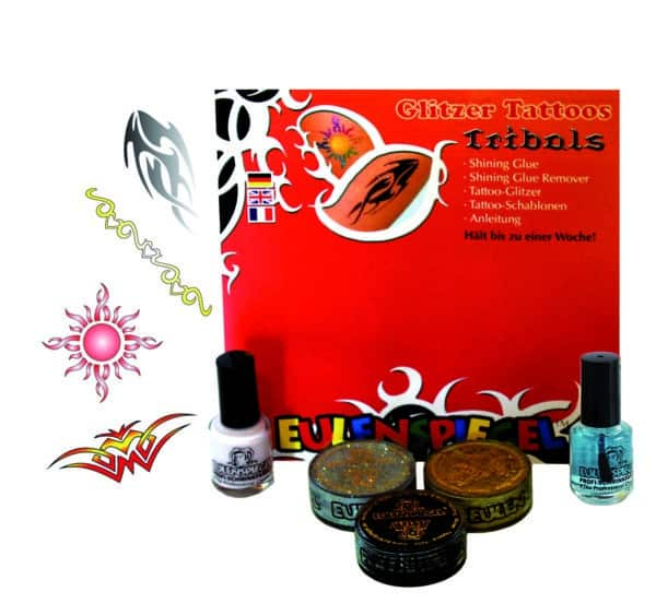 Glitter Tattoo-Set Tribals (XL)