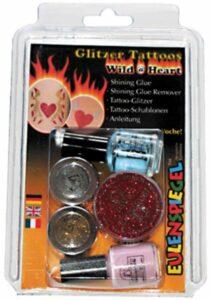 Glitter Tattoo-Set Wild @ Heart