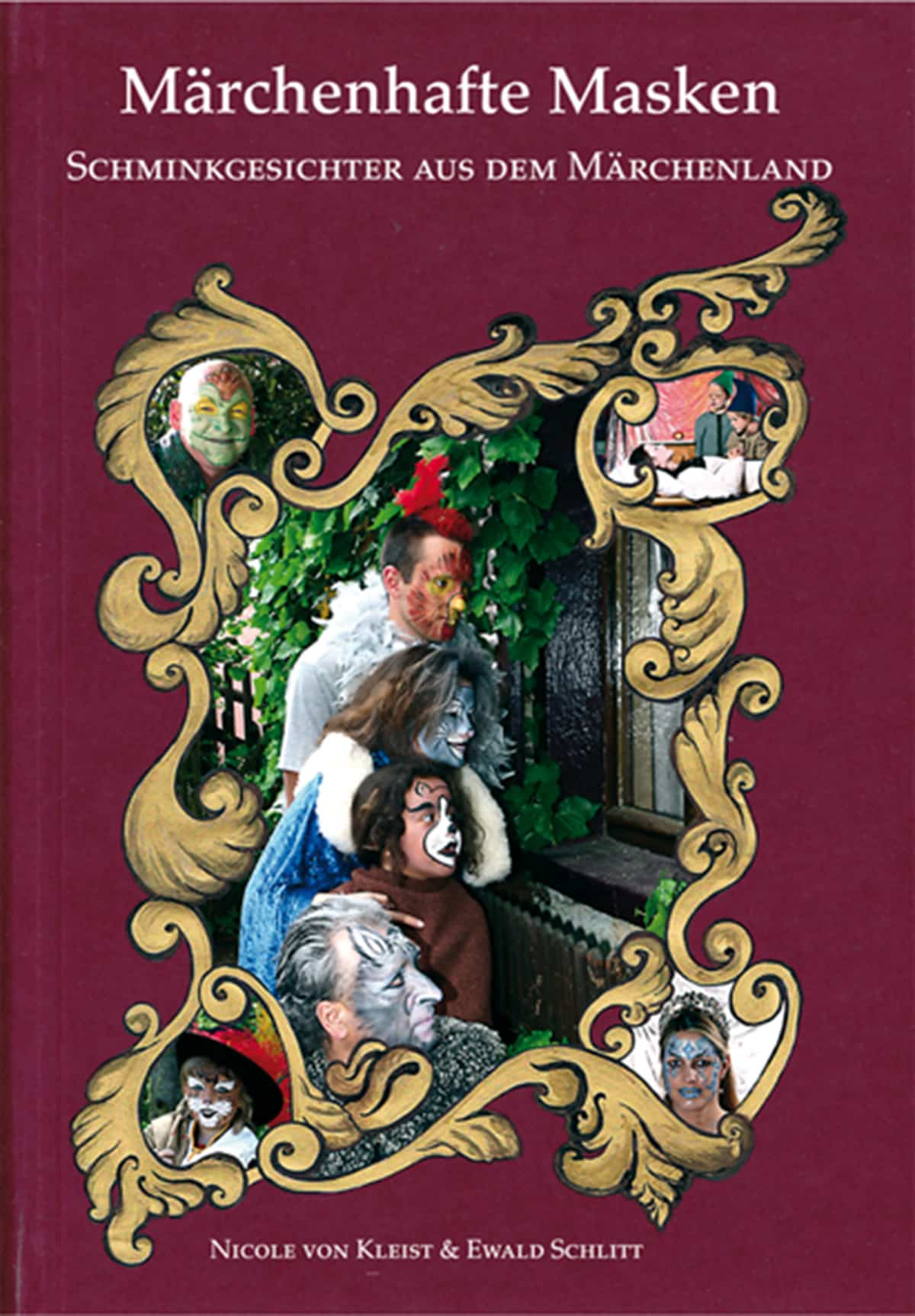 Märchenhafte Masken Schminkgesichter aus dem Märchenland