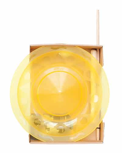 Jonglierteller Set Henrys – Gelb