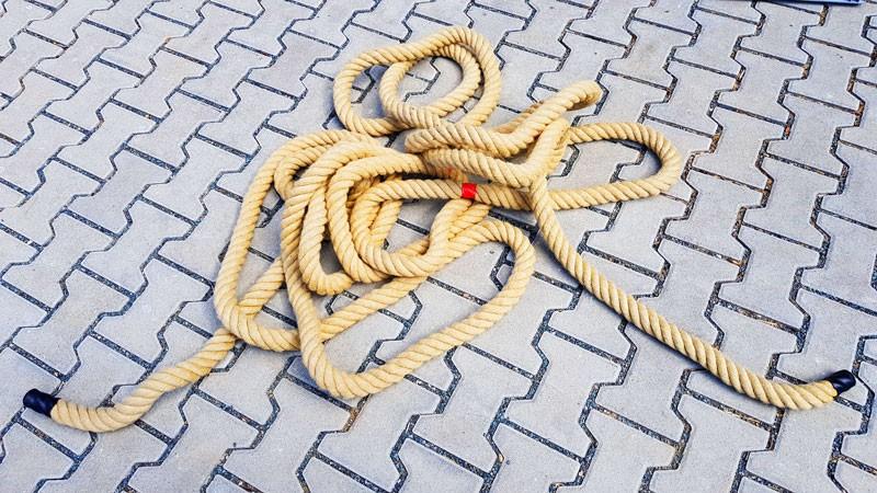 Tauziehen Seil