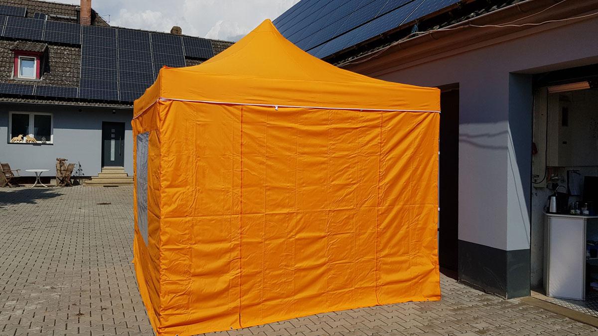 Pavillon 3x3 geschlossen mit Seitenwänden