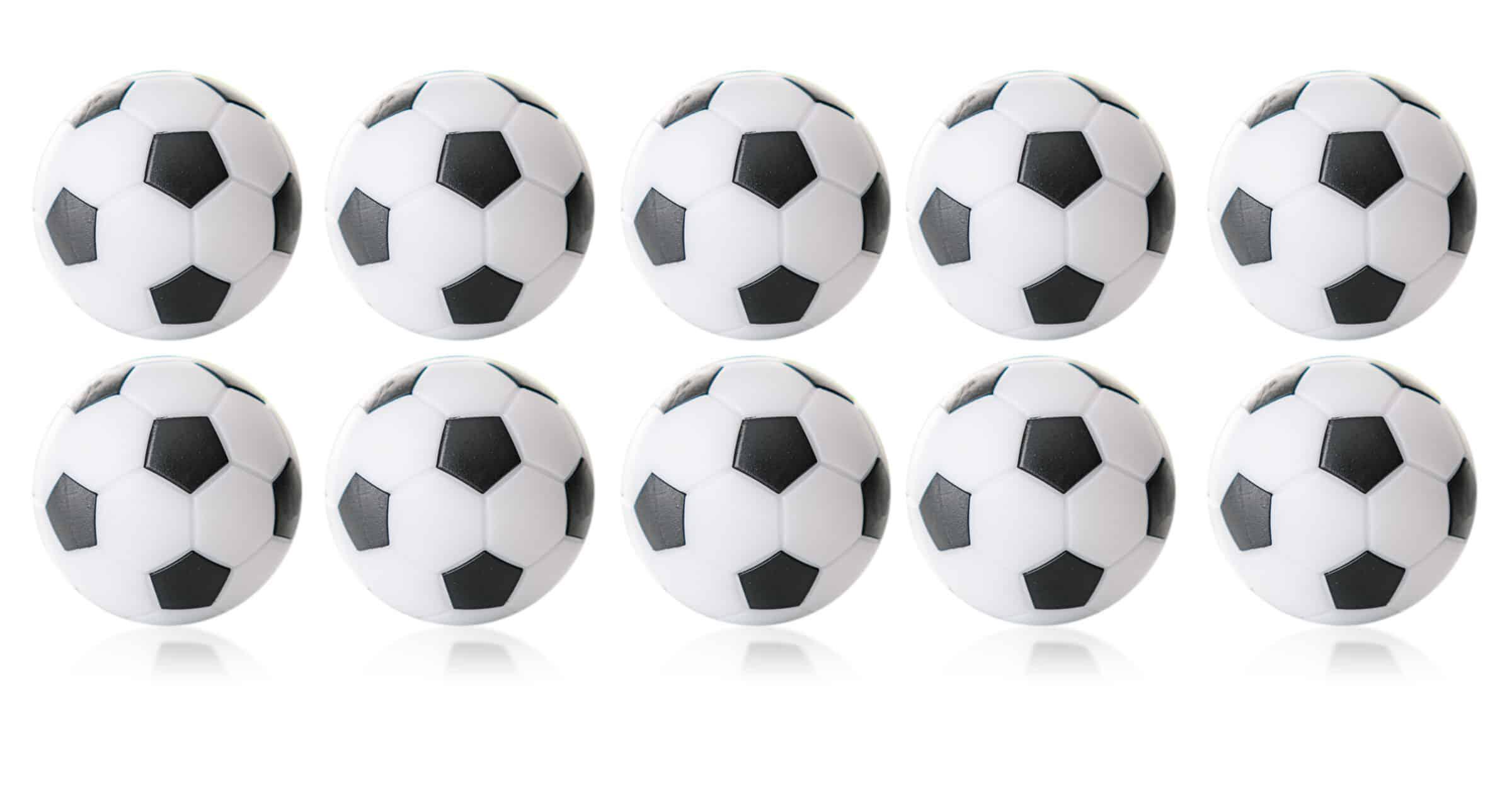 Kickerball Winspeed 35mm weiß/schwarz 24g.