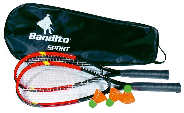 Speed-Badminton Schläger Set inkl. Tasche