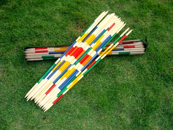 Riesenmikado, Länge ca. 95 cm mit Netz-Tragetasche