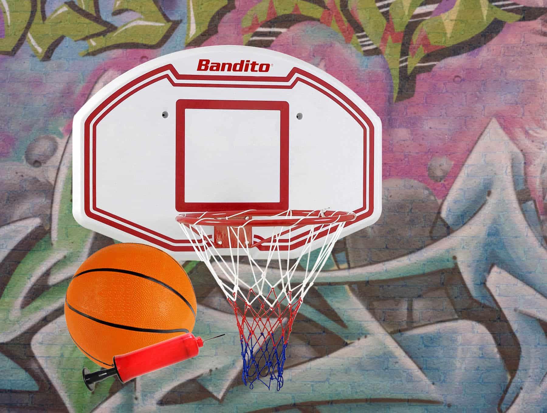 """Basketball-Rückwand """"Winner"""",Set inkl. B-Ball und Ballpumpe"""