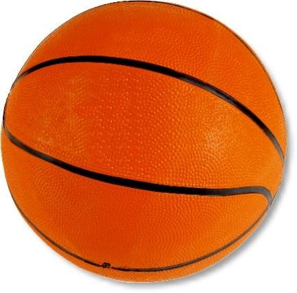 Basketball in offizieller Turniergröße