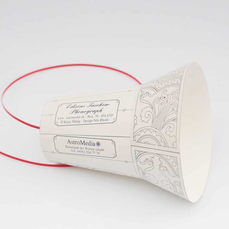 Edisons Taschen Phonograph