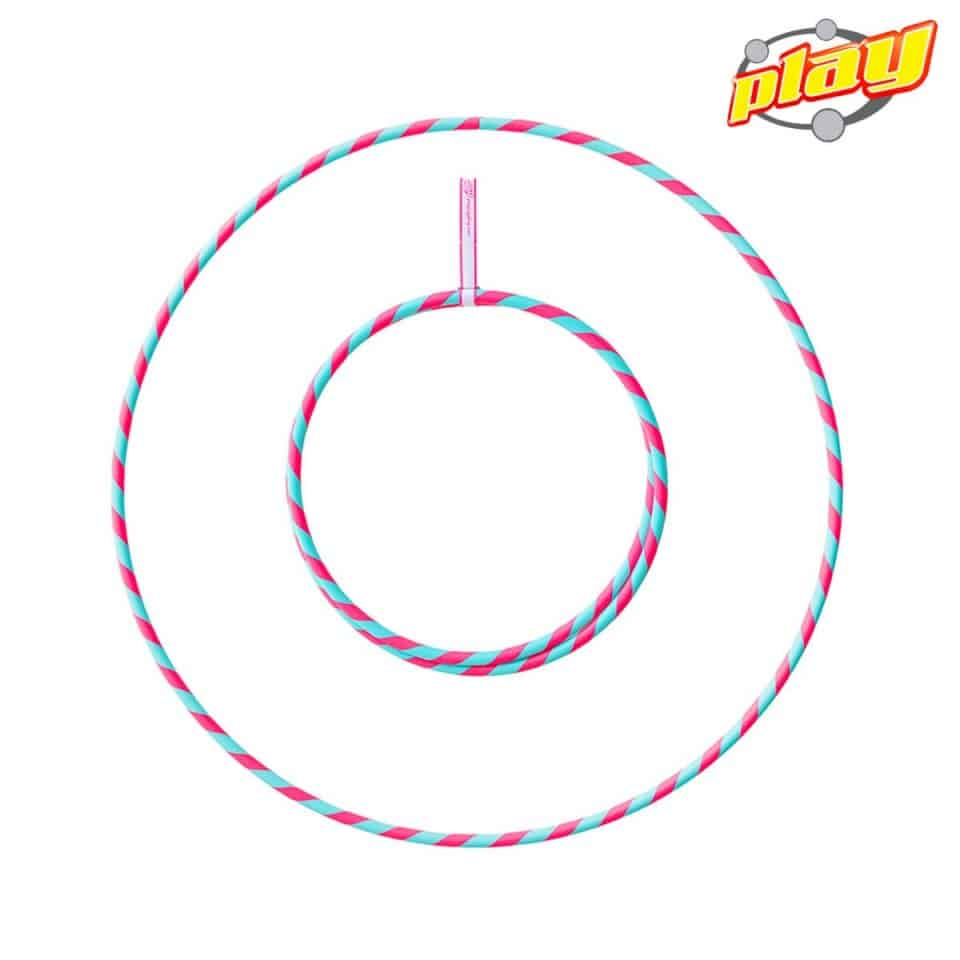 Perfect Hoop Deco türkis-pink
